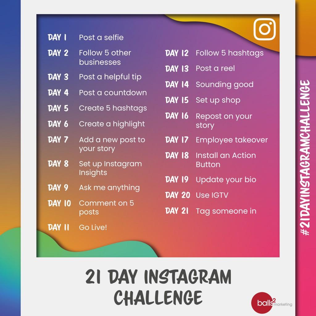 21 Day Instagram Challenge